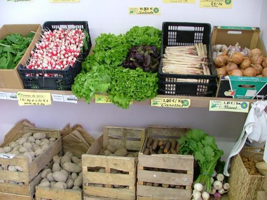 les légumes selon les saisons