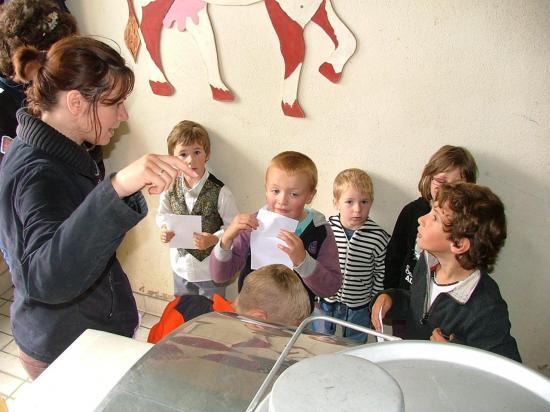 des visites rien que pour les enfants