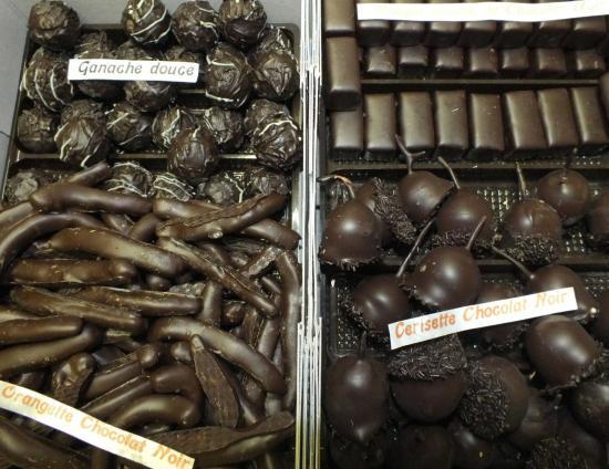 enrobés chocolat noir 72%